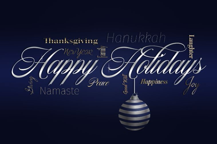 Happy Holidays from Custom Insulation Company, Inc.