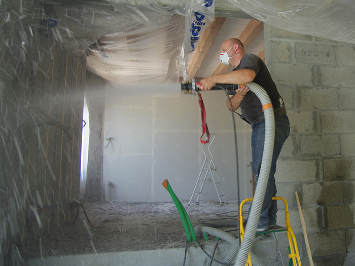 Wet Spray Cellulose Insulation in Worcester, MA