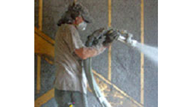 Custom Insulation wet spray cellulose insulation in Worcester, MA