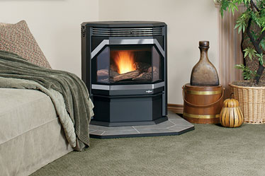 The Winslow™ pellet stove delivers inviting and reliable heat in an attractive style that can be customized to complement any home. Convenient features, ease of use and serviceability are designed right into the stove. And with Smart Heat™ technology, an ideal room temperature can be set for consistent comfort. Plus, with a large variety of design features, the Winslow can be personalized to reflect every style and taste.
